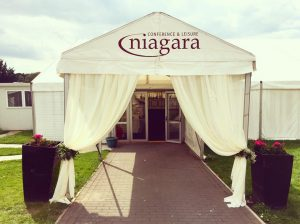 Voile Entrance Draping - £80.00