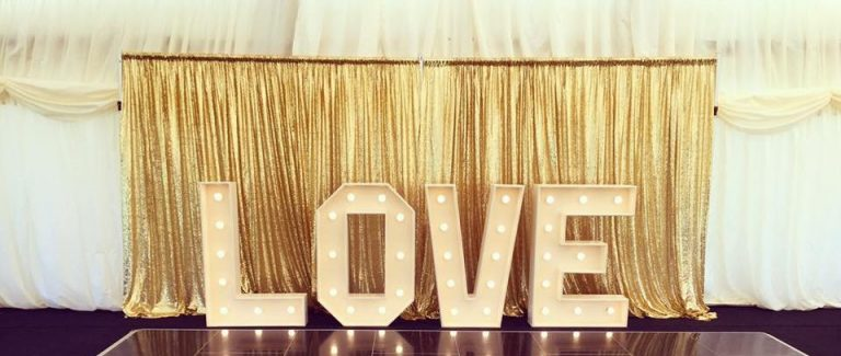 4ft Love Letters - £100.00