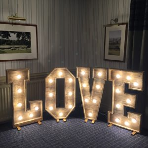 Rustic Love Letters - £100.00